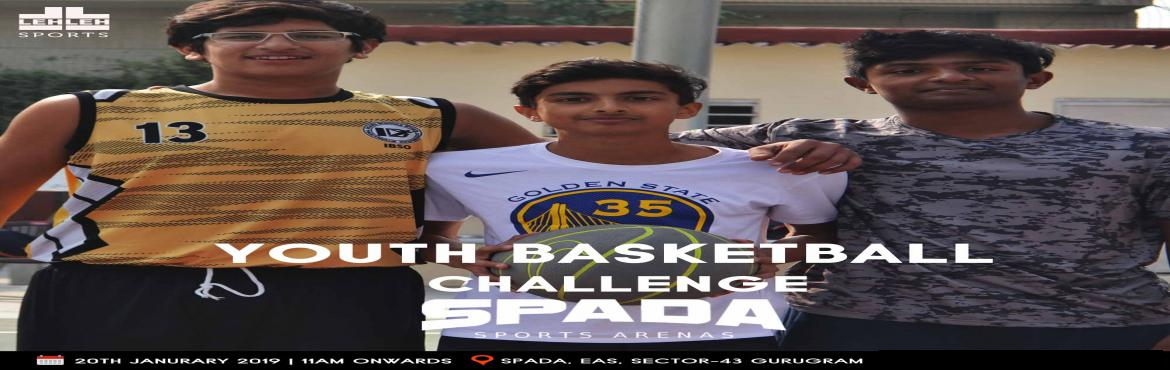 Book Online Tickets for Youth Basketball Challenge at SPADA, Gurugram. In Basketball Great players are willing to give up their own personal achievement for the achievement of the group. It enhances everybody and Obstacles don\'t have to stop you. If you run into a wall, don\'t turn around and give up. Figure out