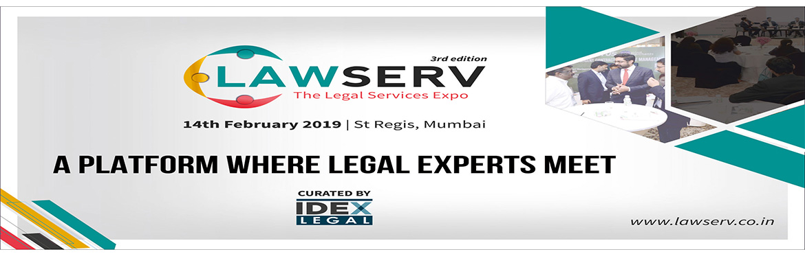 Book Online Tickets for LawServ- The Legal Services Expo, Mumbai. LawServ- The Legal services Expo is back with it's 3rd edition in Mumbai on 14th Feb 2019. LawServ provides an exclusive platform which brings together a wide spectrum of legal service providers, executive search agencies, technology companies
