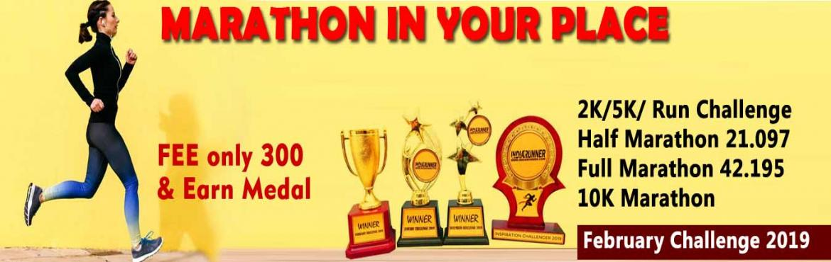 Book Online Tickets for 2K/5K/10K/21K/42K Run February Challenge, Hyderabad. February Challenge 20182K/5K Run/Jog 22 days in a monthComplete Your Run in Your Own Time at Your Own Pace Anywhere in the World!OVERVIEWEVENT DESCRIPTION:RUN/Jog from any location you choose. You can run, jog on the road, on the tr