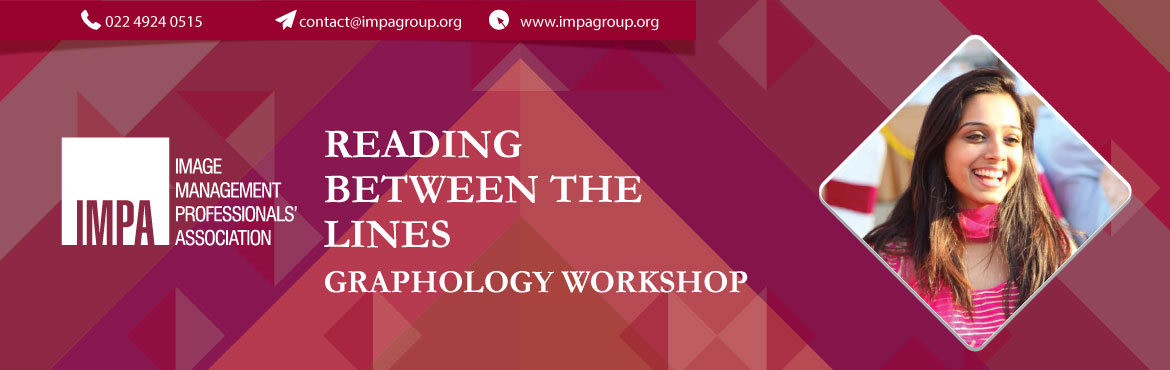 Book Online Tickets for Reading Between The Lines Graphology Wor, Hyderabad. ABOUT THE EXPERT - Suprabha Gupta  Suprabha Gupta, a Graphologist from Hyderabad is an MBA from university of Newcastle Australia. Graphology came to her randomly and has now become her passion to help billions of people in bringing them welfar