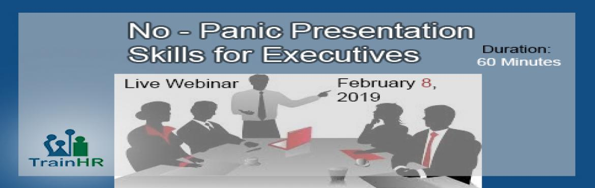 Book Online Tickets for Learn some surprise presentation tips, Fremont. The TrainHR Course is approved by HRCI and SHRM Recertification Provider.  Overview:This webinar highlights best practices for executives and industry leaders who want to speak up and stand out in both formal and informal settings.W