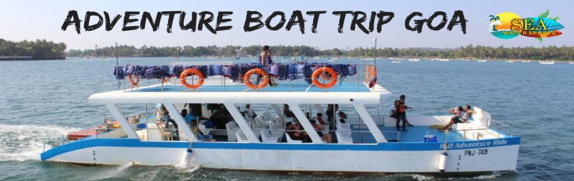 Book Online Tickets for Adventure Boat Trip, Panaji. Adventure Boat Trip In Goa | Trip 1: 10:00 am - 1:00 pm OR Trip 2: 2:30 pm to 5:30 pm Departure Captain of Ports Jetty Panaji Activities ✔Live DJ & Dance, ✔ Dolphin Sightseeing & Famous Attractions, ✔Kayaking, ✔Fishi