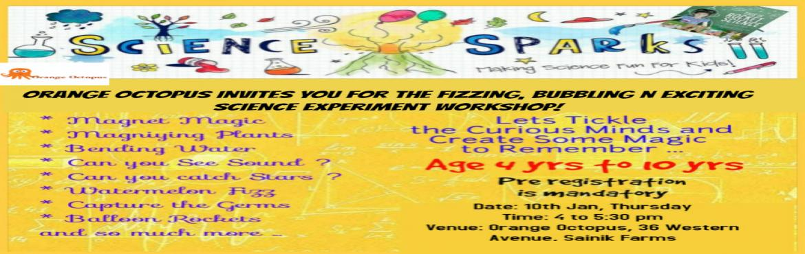 Book Online Tickets for Science Experiment Workshop at Orange Oc, New Delhi. Science Experiment Workshop answers the doubts in the mind of your child and lets them raise questions of their choice. Can they catch stars ? Can they touch sound ? Can they see germs ?