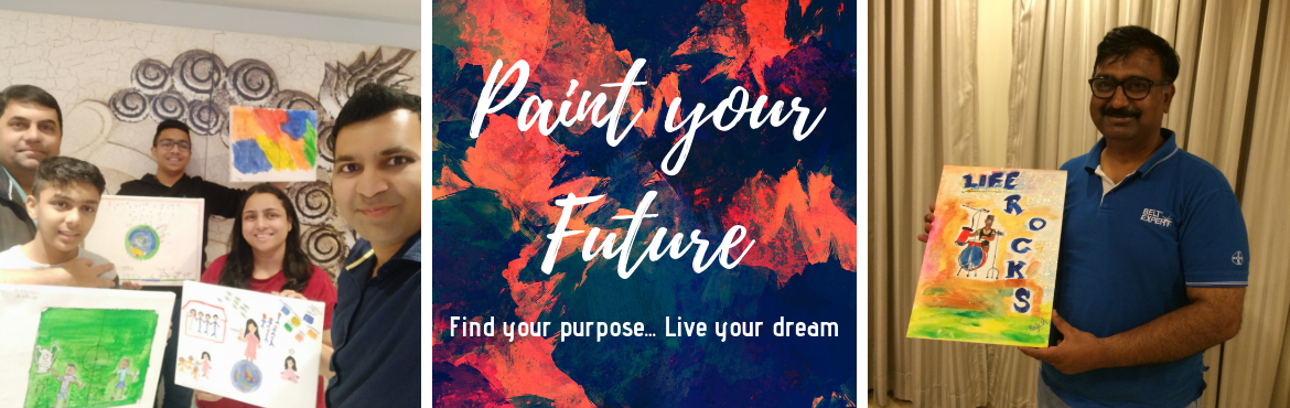Book Online Tickets for Paint your Future, Pune. Imagine– a career just the way you dreamt it / a highly successful enterprise built the way you want it– a perfect life created the way you desired it– living the lifestyle of your dreamsSounds like a distant dream? Well, not anymor