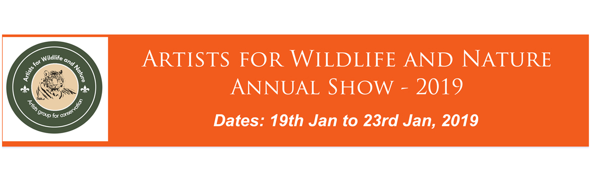 Book Online Tickets for Artists for Wildlife and Nature Annual S, Bengaluru. About the Show      'Artists for Wildlife and Nature' (AWN) was formed in 2017 by Prasad Natarajan, a wildlife artist, and is the first of its kind in India. Their main aim is to promote wildlife and nature art. AWN's arti