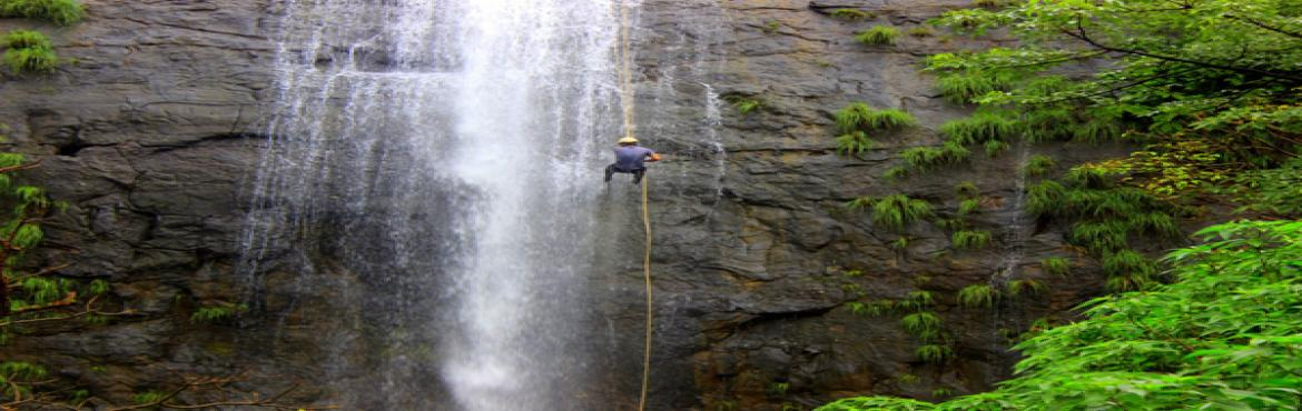 Book Online Tickets for Dudhiware Waterfall Rappelling, Pune. Dudhiware Waterfallis located in Lonavala. Approx height of this waterfall is 135 ft. One can enjoy the thrill of Dudhiware waterfall rappelling safely, as all the activities are done under expert guidance, and all safety measures are taken for
