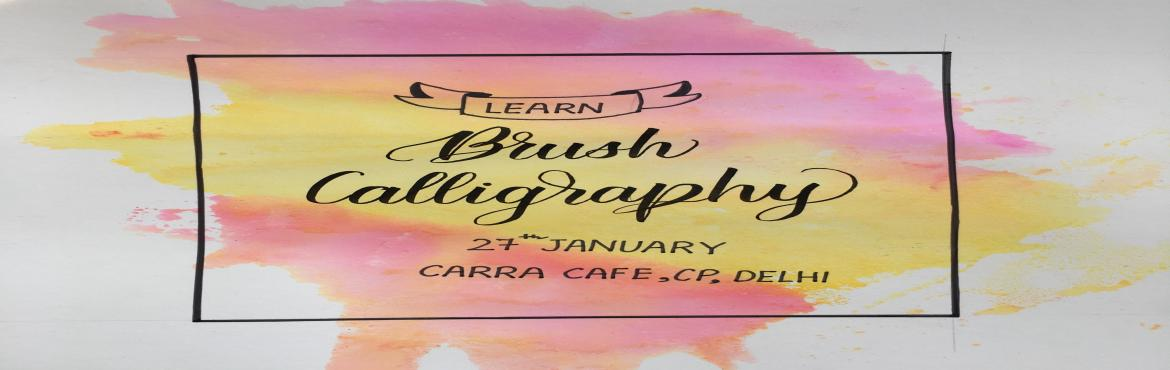 Book Online Tickets for Learn Basics of Brush Calligraphy, New Delhi. What does the workshop include?- Basics Strokes of Brush Letters- Forming Letters- Joining Letters- Writing Complete Words- Writing Quotes- Loose Watercolor Florals and Backgrounds to Decorate Your Lettering- Materials (Brushpens, Watercolors, and Pr