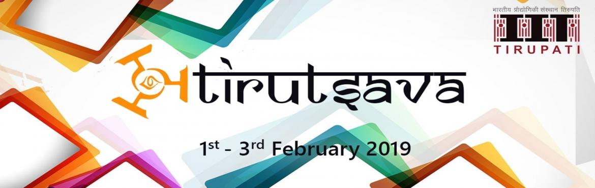 Book Online Tickets for Tirutsava 2019, Tirupati.  Tirutsava is a conflation between technology and culture. The name is derived from a fusion of the words, \