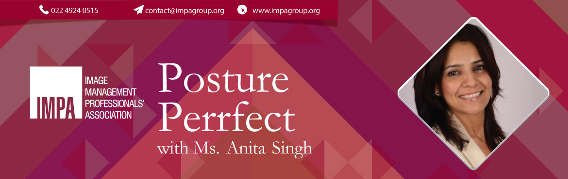 Book Online Tickets for Posture Perrfect, Vadodara. Ms. Anita Singh was born and brought up in the Pink City Jaipur and settled in the Diamond City Surat. She has a Masters Degree in English Literature and is a Fitness Professional for the past 12 years. She has a Reebok Certification&n