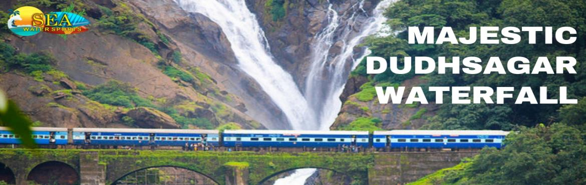 Book Online Tickets for Dudhsagar Waterfall Trip In Goa Booking , Sonaulim. Dudhsagar Waterfall Trip In Goa Booking By Sea Water Sports Dudhsagar Waterfall is the best location to visit with family and friends in Goa. Dudhsagar waterfall is also known as Sea of Milky. The Dudhsagar waterfall is located on the Mandovi River i
