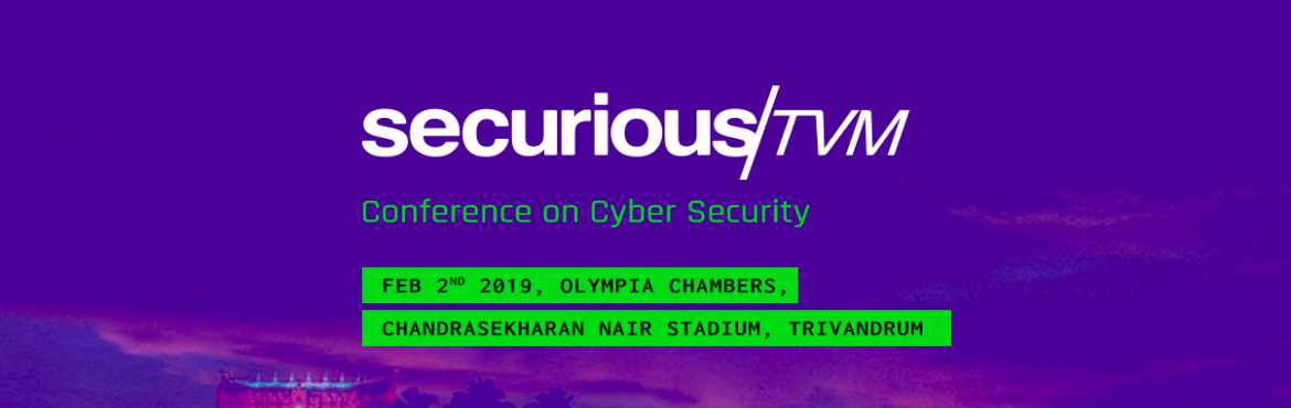 Book Online Tickets for SECURIOUS/TVM, Thiruvanan. Are you curious about cyber security?  Slash Secure Europe and Cybit Global brings forward Securious, an event focussed on imparting, the fundamentals of cyber security from a beginners perspective. Securious is designed such thatthe best
