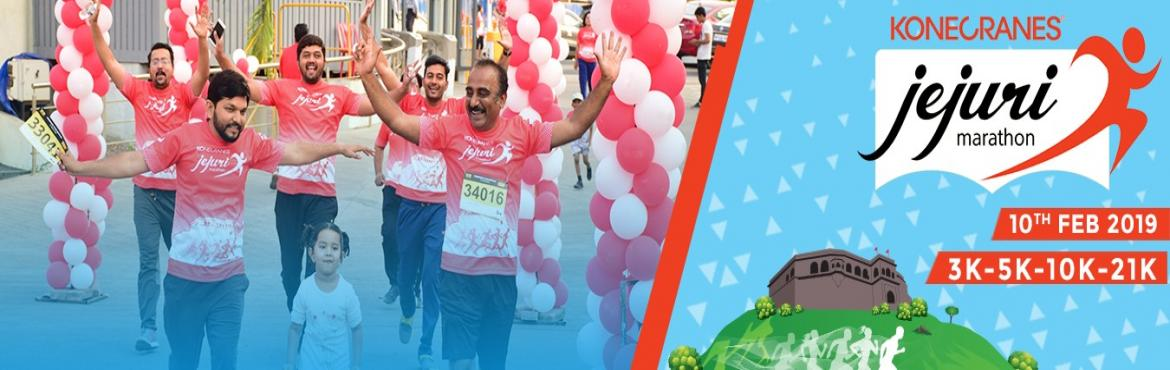 """Book Online Tickets for Konecranes Jejuri Marathon Edition 3, Pune.   Konecranes Jejuri Marathon (Edition 3)is running event set in the land of Jai Malhar.The route goes up the """"gad"""" (hill) of Khanderaya. You go up the hill to a picturesque view of the Jejuri village below. The run is in these"""