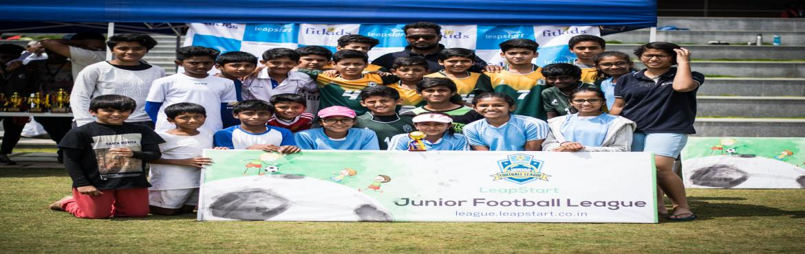 Book Online Tickets for LeapStart Junior Football League 2019 - , Bengaluru. The LeapStart Junior Football League offers an introduction to the game of football at a size and scale that meets the sporting needs of middle schoolers with smaller goals, pitches and less players per team. These tournaments allow children to have