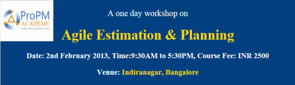Book Online Tickets for Agile Estimation & Planning  A One Day W, Bengaluru. Agile Estimation & Planning