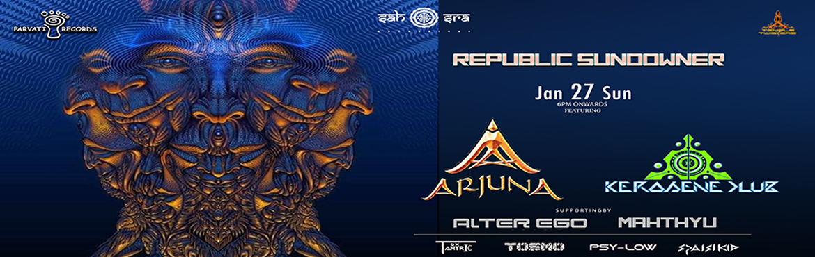 Book Online Tickets for REPUBLIC SUNDOWNER, Hyderabad. Brace yourself to experience the live performance of Arjuna, Kerosene Club, Alter Ego & more their Music is which makes your bones resonate & take you to a state of trance beyond your imagination, it's the most awaited party destination