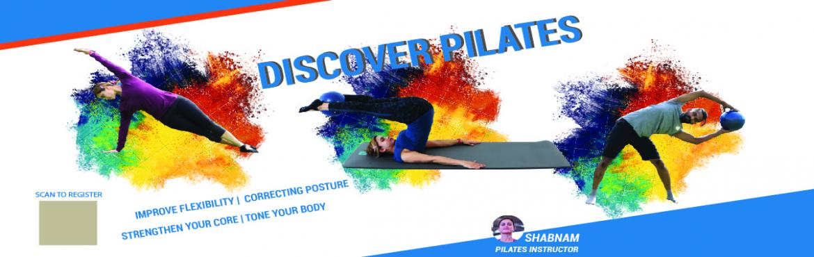 Book Online Tickets for Discover Pilates, Bengaluru. Discover Pilates @Samsung opera house MG road,Organized by DECATHLONDate: 27th Jan 2019Time: 5 PM to 6 PMGoodies for the participants*Registration 299/-Instructor:Mrs.Shabnam Fejfar, Dexterous Pilates instructorPilates: Increases th