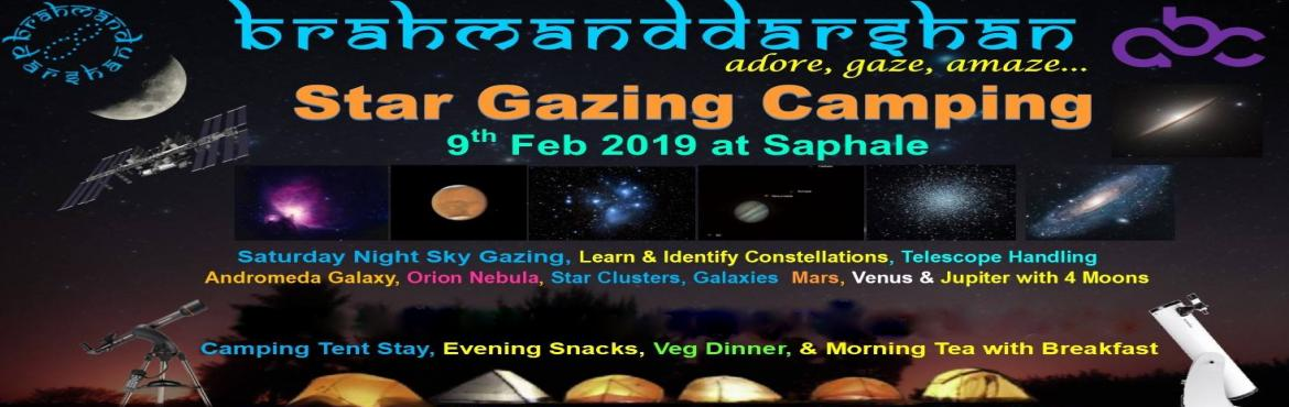 Book Online Tickets for Stargazing and Camping with Comet C/2018, Mumbai. Welcome Winter Star Gazing Camping Under the Billions StarsBrahmand Darshan inviting you to join for Night Sky Gazing (Star Party) at Saphale, Tandulwadi Village. Come watch Astonishing World of Universe with us ! ! !Event Date: 9th Feb 2019 (Saturda