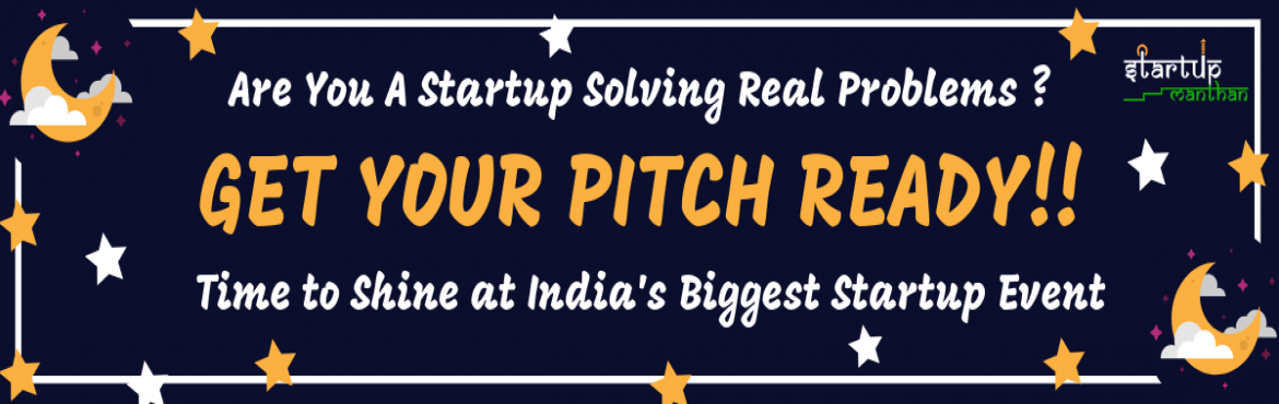 Book Online Tickets for Startup Manthan Grand Finale, New Delhi.  \