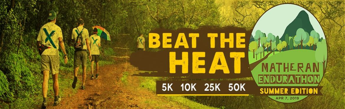 Book Online Tickets for Matheran Endurathon - Summer Edition, Mumbai. Welcome to the First ever Summer Edition of the one of the most happening and adventurous runs of the Monsoon Marathon Challenge , the Matheran Endurathon! Last year we broke all barriers and had probably one of the best experiences we have ever had