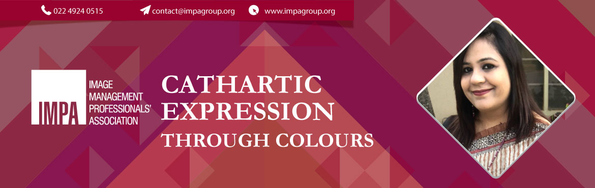Book Online Tickets for CATHARTIC EXPRESSION THROUGH COLOURS, Gurugram. About Ms. Anjali Chawla  Ms. Anjali Chawla is an International Facilitator, Energy Healer and Clinical Hypnotherapist with over 7 years of experience. As a clinical hypnotherapist she works through a process which in clinical terms is called, &