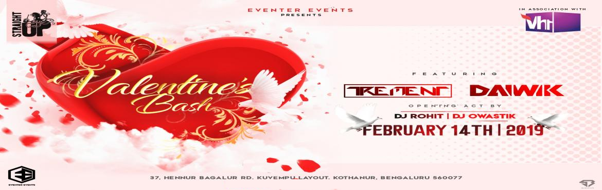 Book Online Tickets for Valentines Bash Eve at Straight Up, Bengaluru. Eventer Events present in associate with VH1  14th Feb 2018 celebrate Valentine\'s bash Eve like never before at the classy rooftop STRAIGHT UP   How about a night of Romance revelry and temptation at STRAIGHT UP HENNUR These opulen