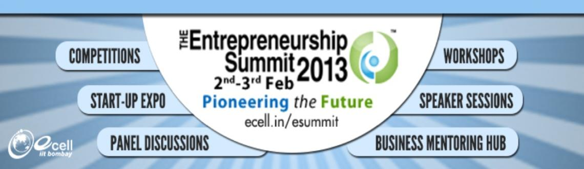 Entrepreneurship Summit 2013 @ IIT Bombay