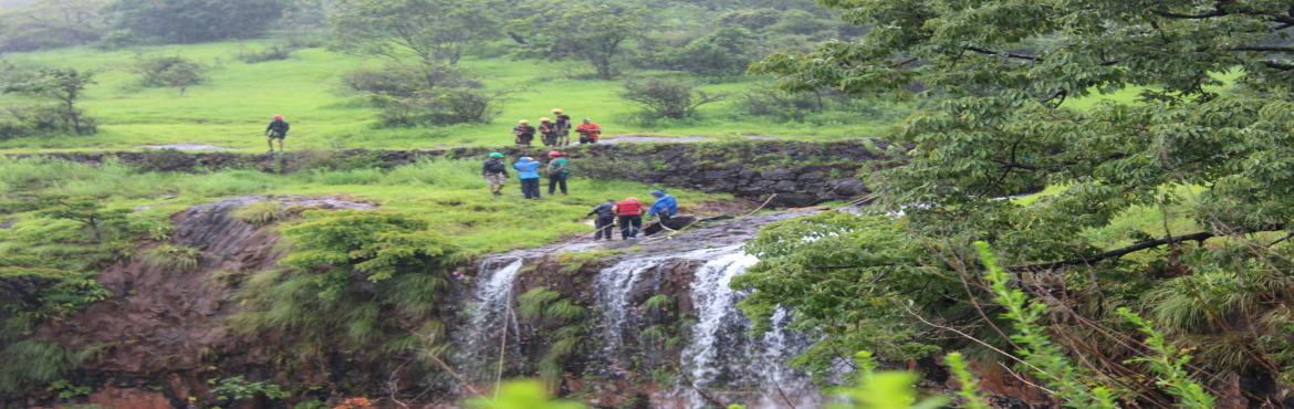Book Online Tickets for Torna Waterfall Rappelling, Pune. TORNA WATERFALL RAPPELLING It is usually thought that rock adventure is over with the arrival of monsoon. But proving it wrong, Plus Valley Adventure is organizing a Torna waterfall rappelling event near Torna along a torrent and gushing 130ft waterf