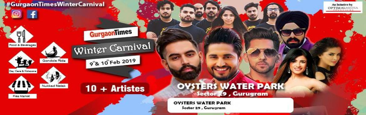 Book Online Tickets for Gurgaon Times Winter Carnival, Gurugram. A unique platform that appeals to eclectic tastes in entertainment. A dedicated area designed for kids, youth & Elderly - A complete family event. A musical night with DJ's and Band performances to let guests unwind. Diverse activities of s