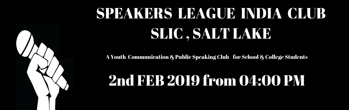 Book Online Tickets for Speakers League India Club - Salt Lake, Kolkata. What is Speakers League India? Speakers League India is the India Chapter of Speakers League USA and STUDY GROUP is the Charter Holder of Speakers League India. Speakers League India Club  SLIC – Salt Lake Youtube Videos     A Pl