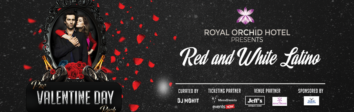 Book Online Tickets for Pre Valentine Event @ Royal Orchid Hotel, Bengaluru. Pre Valentine Event @ Royal Orchid Hotel -Jeffs   Bangalore Biggest Valentine Party.     - Unlimited Free drinks for Ladies. - Dj Mohit / Dj Angel(Mumbai)/Dj Panic(Hip-hop)/Dj oppozit(Bollywood). - Free Parking & Free Wifi. - Kids