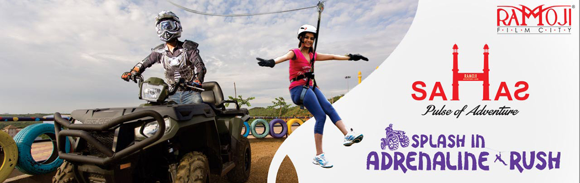 Book Online Tickets for Ramoji Adventure Experience, Hyderabad. Escape to Ramoji Film City, a magical realm filled with excitement and wonderful surprises at every turn. As the world's largest integrated film city and India\'s only thematic holiday destination with magic of cinema, there's something s