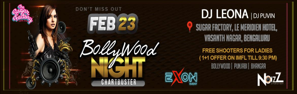 Book Online Tickets for Bollywood Chartbuster Saturday @ The Sug, Bengaluru. Let\'s kick off this Saturday 2019 with some great Bollywood Night and yes its been in the books and marked as the most happening gigs in the city, The music will keep you grooving and the bartenders will keep you fueled all night long. Featuring DJ