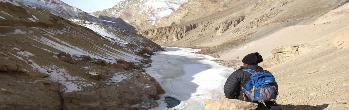 Book Online Tickets for Chadar-Trek-2019, Leh. Chadar Trek 2019 is a walk on the frozen Zanskar River where temperatures drop down to -35 degrees at night in winter. The ration and all equipments required for the trek are all transported on sledges. The real magic exists below your feet and