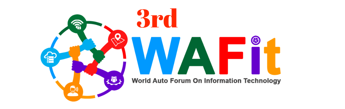 Book Online Tickets for 3rd WAFit - World Auto Forum on IT, New Delhi.                  World Auto Forum presents 3rd WAFit! Auto CIO\'s, CXO\'s and IT Heads in a hall for a day.    CIO's & Heads from Auto Companies, Heads from Software, Hardware, Cloud, AI, Cogniti