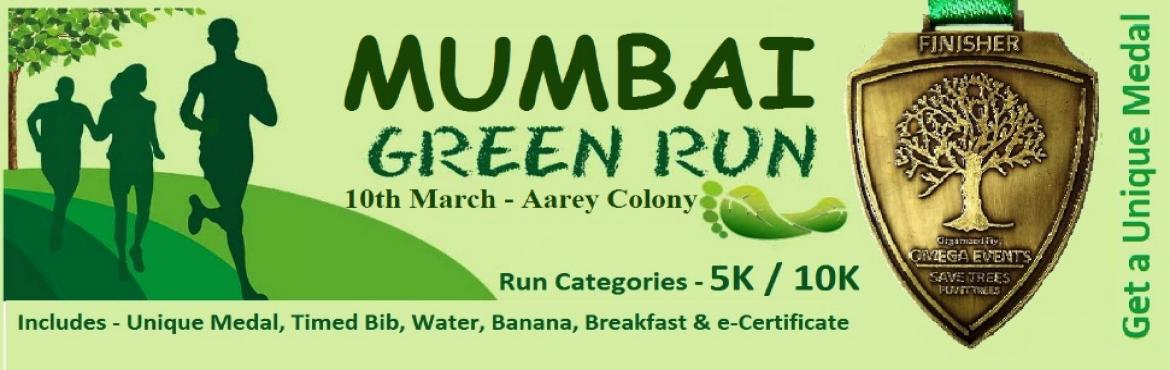 Book Online Tickets for Mumbai Green Marathon, Mumbai. Mumbai Green Marathon Participate and Get Unique Medal Omega is a Social Enterprise working in the Field of Marketing and Event Management since 2011. We Organize Marathons on Pan India Level. On 10th March 2019 We have Organised Mumbai Green Ma
