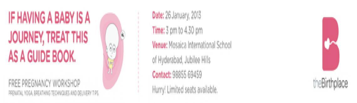 Free Pregnancy Workshop, Hyderabad