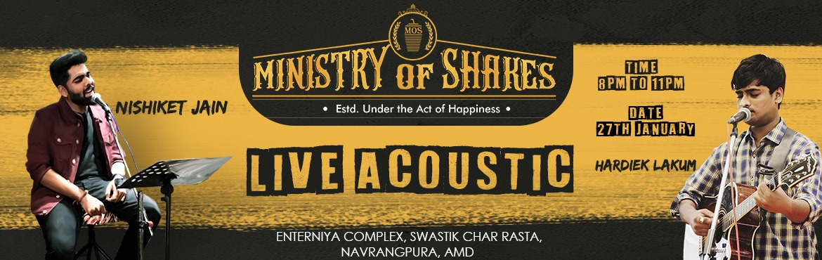 Book Online Tickets for Live Acoustic, Ahmedabad.