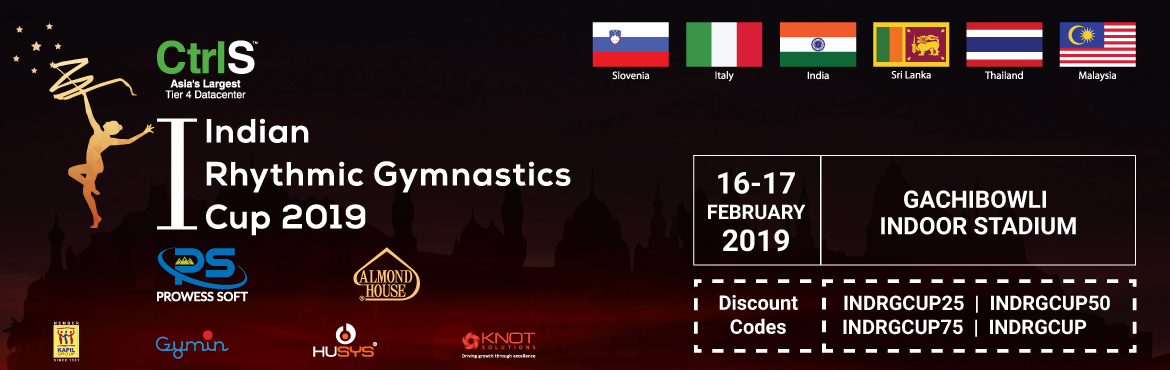 Book Online Tickets for 1ST INDIAN RHYTHMIC GYMNASTIC CUP, Hyderabad. One Indian Cup brings 2 Continents on one platform and make way for All Women Olympic Sport Rhythmic Gymnastics In India Goal is to Bring best of the Sports persons from across the Globe, Bringing all the aspiring Students and sports enthusiasts, Bri