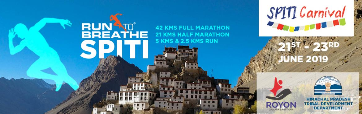 Book Online Tickets for Run To Breathe Spiti 2019 , Rangrik. Run To Breathe Spiti 2019 Run To Breathe Spiti 2019 – India\'s Highest Half Marathon at 12,000 Feet   The cold desertland of Spiti Valley is one of most unique experiences in India having scenic landscapes and various heritage
