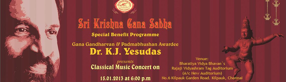 Dr. K. J. Yesudas - Live Classical Music Concert