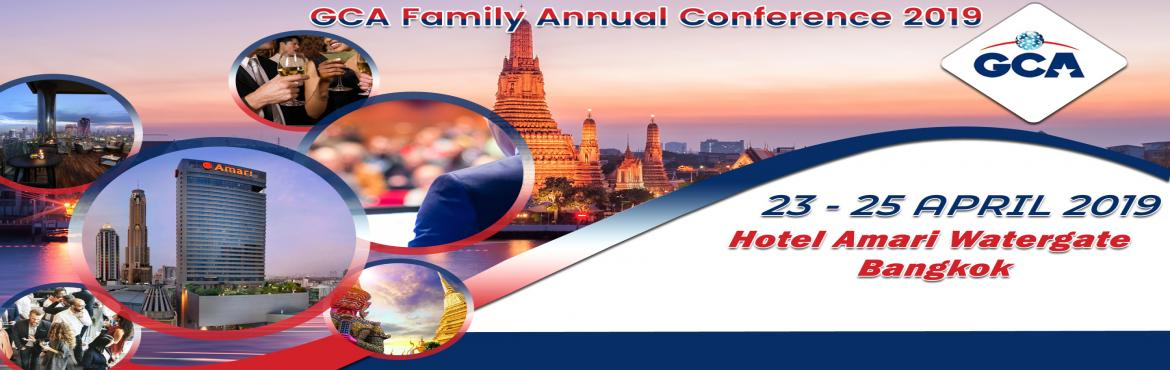 Book Online Tickets for  GCA Family Annual Conference 2019, Bangkok. Global Cargo Alliance (GCA) provides a secured business platform, where trusted and qualified Independent Freight Forwarders who specialised in various cargo movements, can work to create a mutually beneficial business relationships.We cordially invi