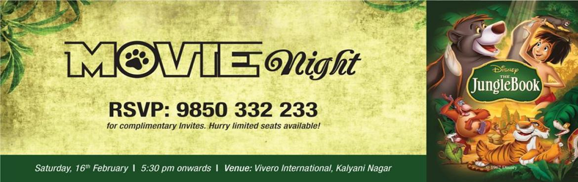 Book Online Tickets for Movie Night At Vivero Kalyani Nagar, Pune. We bring the \