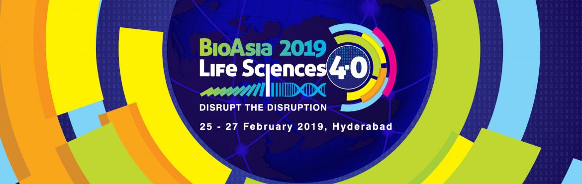 Book Online Tickets for BioAsia 2019 - Discounted Registration f, Hyderabad. BioAsia 2019, is all set to bring together the global industry leaders, researchers, policy makers, innovators, and investors together on one platform discussing the new opportunities and develop strategies to succeed in emerging markets like India.