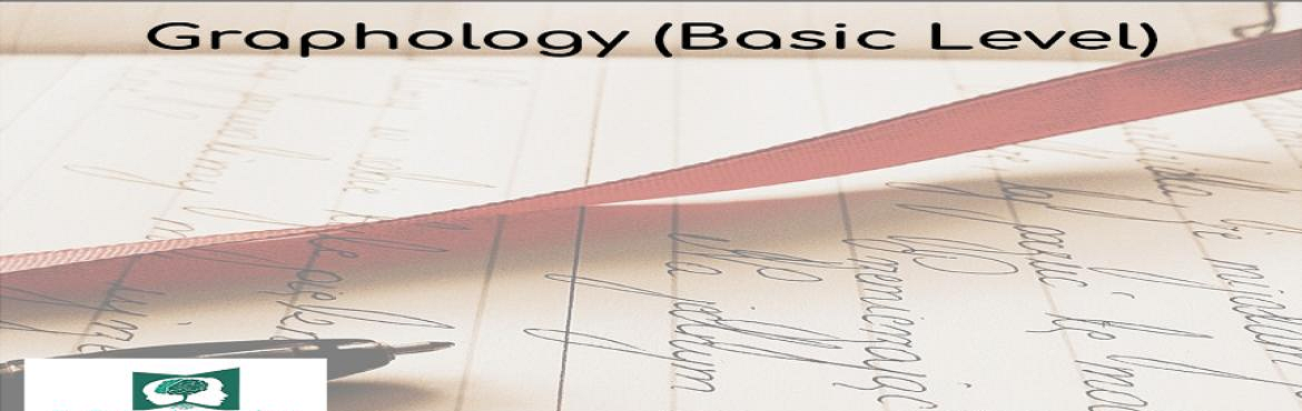 Book Online Tickets for GRAPHOLOGY BASIC LEVEL- MINDSIGHT CLINIC, Mumbai. Event Name – Graphology (Basic)  Event Description - Graphology is basically the science that is used to analyses handwriting for assessment of characteristics in a p