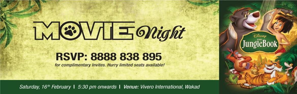 Book Online Tickets for Movie Night at Vivero Wakad, Pune. We bring the \
