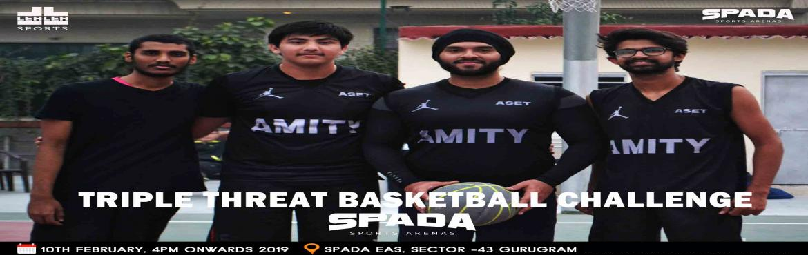 Book Online Tickets for Triple Threat 3on3 Challenge @ SPADA, Gurugram. How hard you work at your craft and no matter how successful you become, people just have to find something negative to hang on you. The bar is always being raised as you go the rules are always being rewritten. There aggravation that comes with that