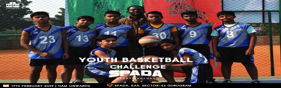 Book Online Tickets for Youth Basketball Challenge @ SPADA, Gurugram.  Basketball Leadership is diving for a loose ball. Its about being able to take it as well as dish it out. Thats the only way your going to get respect from other players. LEH LEH Sports along with SPADA Sports Arena brings youYouth Baske