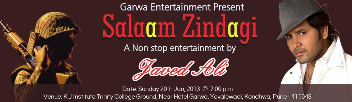 Salaam Zindagi with Singer Javed Ali Live in Concert @ kondwa