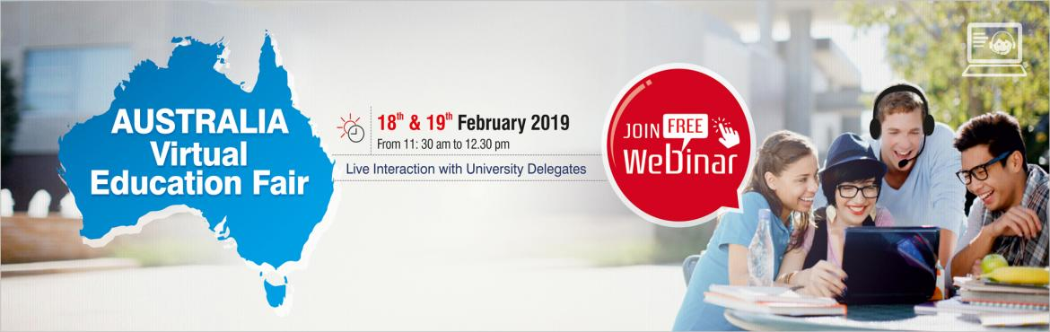 Book Online Tickets for Australia Virtual Education Fair - Study, Nagpur. Join Free Webinar!!! Krishna Consultants is conducting an Online Webinar for all students who are looking to pursue their education in Australia. Ask your queries directly to university representatives and experience campus life in virtual real