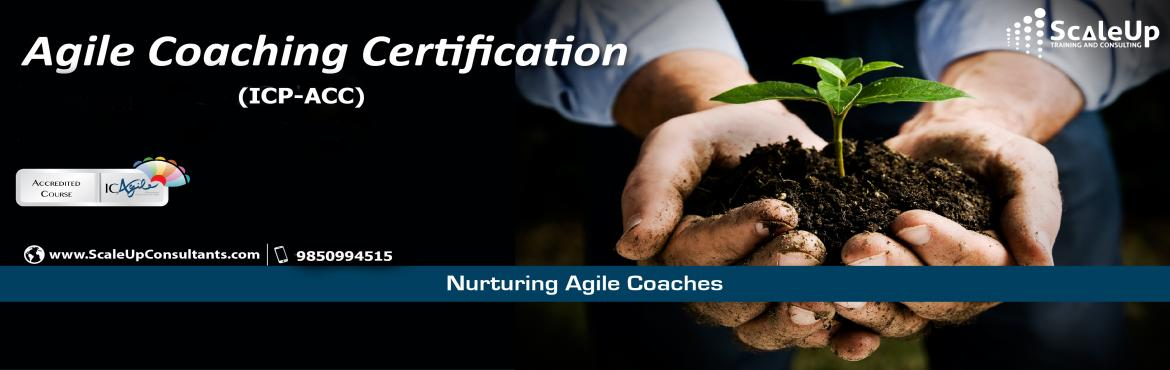 Book Online Tickets for Agile Coach Certification, Mumbai - Marc, Mumbai. The Agile Coaching Workshop (ICP-ACC) is a 3-days face-to-face training program with the primary objective to make learners efficient in coaching agile teams. It helps the participants understand and develop the essential professional coaching skills